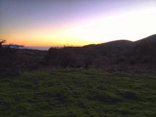 l'alba ci da il buongiorno